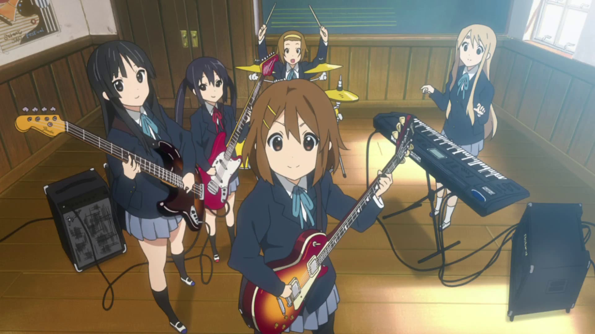 Review: K-ON! (Season One, Season Two And The Movie)